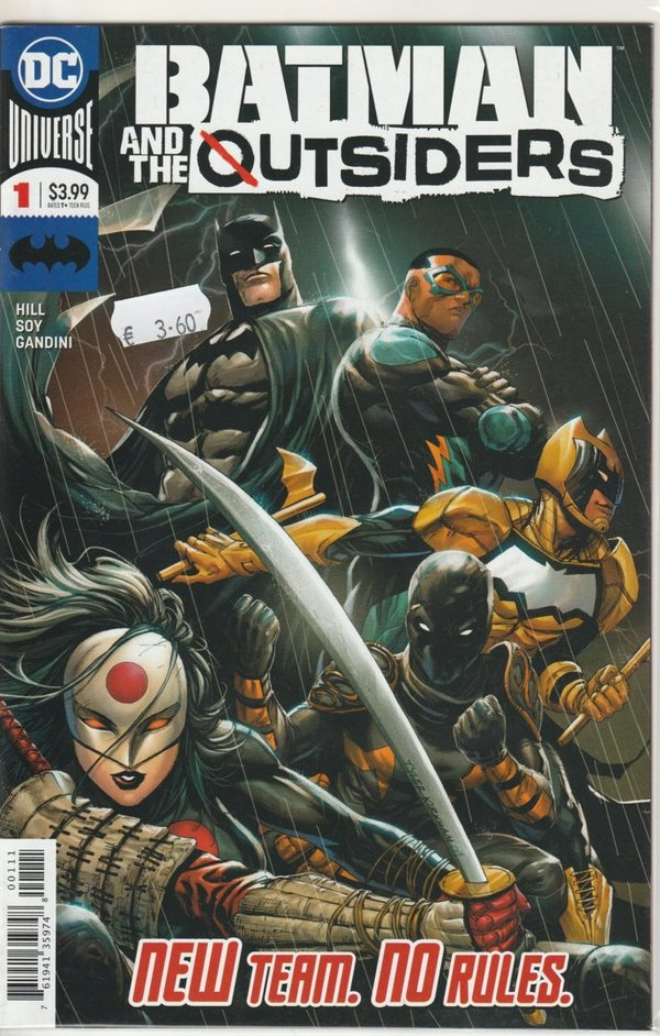 Batman and the Outsiders 001