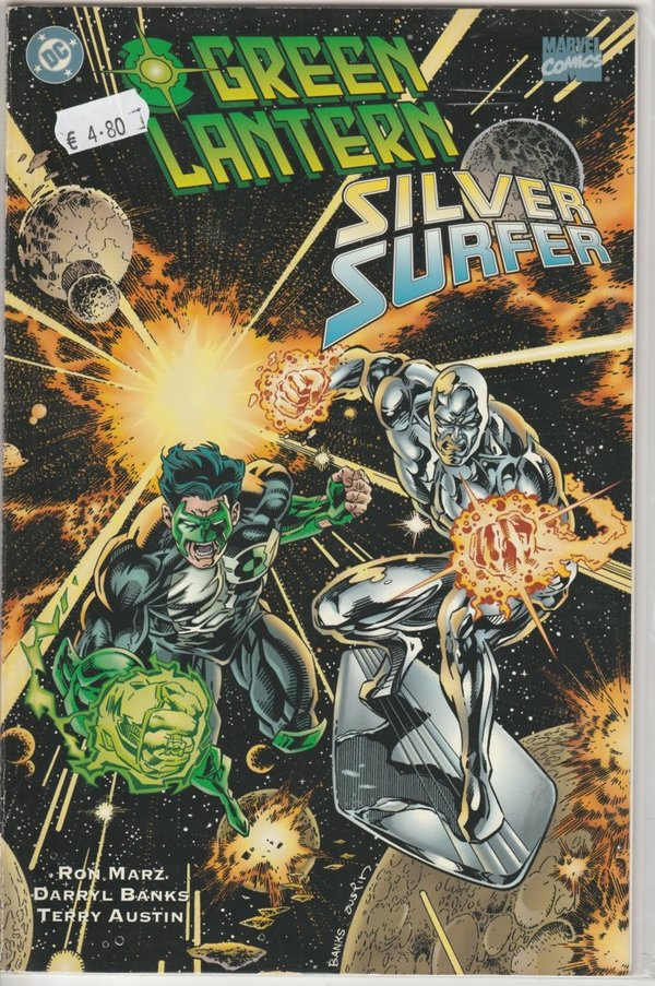 Green Lantern  Silver Surfer Unholy Alliances
