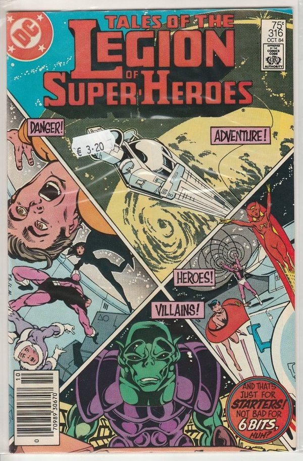 Tales of the Legion of Super-Heroes 316