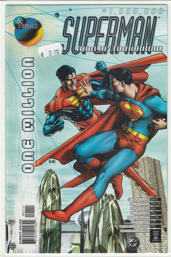 Superman Man of Tomorrow Special 1,000,000