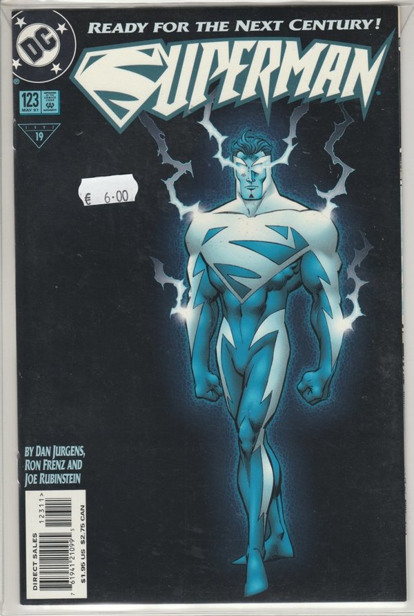Superman 123 [Glow in the Dark Cover]